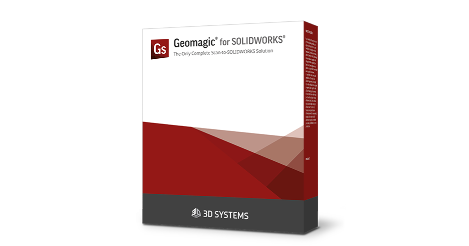 Geomagic for SOLIDWORKS 3D 扫描软件