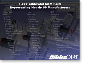 GibbsCAM Reaches Another Landmark