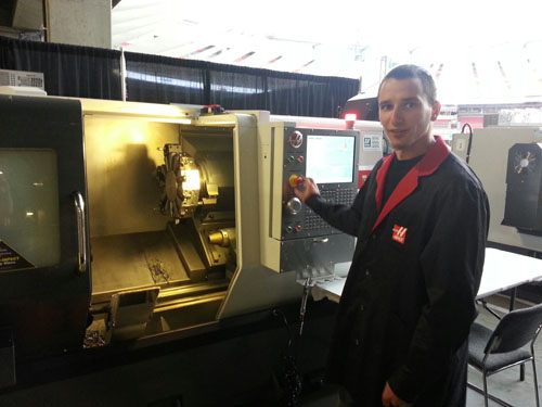 GibbsCAM User Takes Gold at Skills Canada CNC Programming Competition