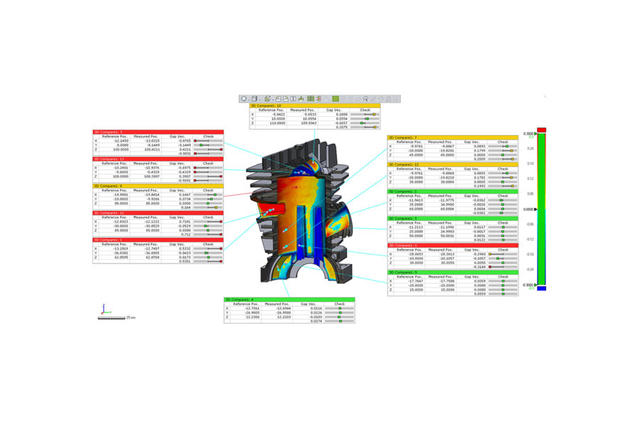 Custom Reports from Geomagic Control X Inspection Software