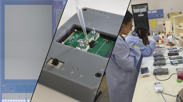 伦敦帝国理工学院利用 Figure 4 技术开发的快速诊断设备
