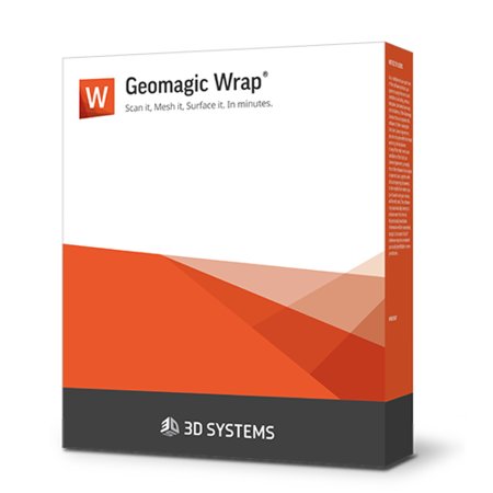 Geomagic Wrap 3D 扫描软件